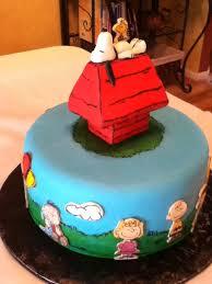 snoopy cakes snoopy birthday cake creative ideas