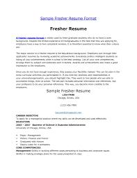 job resume mca fresher resume format best resume format word free