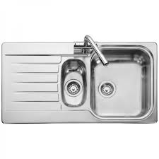 leisure proline pl9852l 1 5 bowl 1th stainless steel inset leisure kitchen sinks befon for