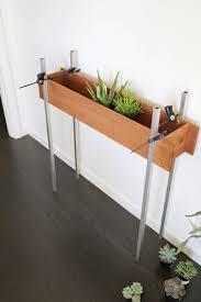 Indoor Window Planter Skinny Planter Stand Diy U2013 A Beautiful Mess