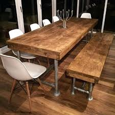 Kitchen Tables Online by T4homedecoration Page 3 Rustic Metal Dining Table 54 Round