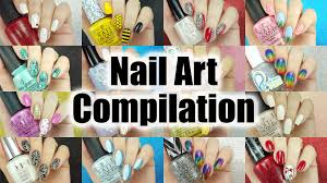 nail art compilation 2 nails by jema youtube