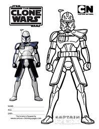 Wars Clone Wars Coloring Sheets Wars Clone Coloring Pages