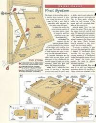 Drafting Table Woodworking Plans 373 Fold Down Drafting Table Plans Workshop Solutions Plans