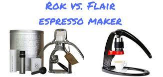 Rok Coffee rok vs flair manual espresso makers battle reviews differences