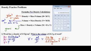 Brainstem Mass Density Mass And Volume Problems Part 1 Youtube