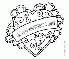 mother s day coloring sheet 259 free printable s day coloring pages