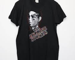rolling stones shirt vintage tshirt 1981 tattoo you tour