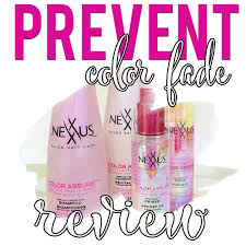 Nexxus Color Assure Pre Wash Primer - prevent color fade with nexxus color assure hairspray and highheels