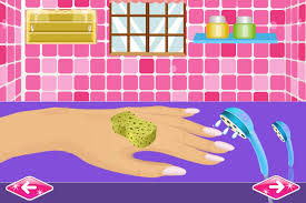 nail art games for girls salon android apps on google play