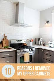 kitchen without cabinets 10 reasons i removed my kitchen cabinets the