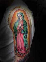 colorful virgin mary tattoo yelp