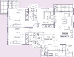 1371 sq ft 3 bhk 2t apartment for sale in ramky group one north