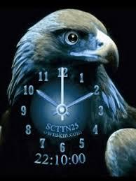 wallpaper hp yang bergerak animasi bergerak keren eagle clock animasibergerak net