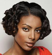 photo short black weave style short and quick weave hairstyles