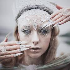 ice queen halloween makeup ideas popsugar beauty