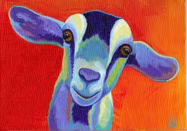 Goat Home Decor Framed Diy Digital Painting On Canvas Living Room Home Decor