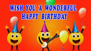 a wonderful birthday ecard youtube