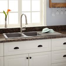 awesome grey stainless steel double kitchen sink chrome grohe full size of kitchen awesome grey stainless steel double kitchen sink chrome grohe kitchen faucet