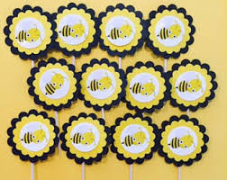 bumblebee decorations bumble bee cookies etsy