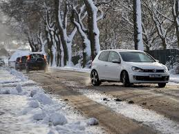 volkswagen snow snow covers scotland daily record