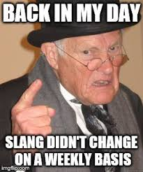 Meme Slang - i don t know what anything means anymore imgflip