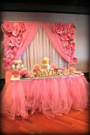 backdrop for baby shower table it s a pink and silver baby shower party ideas baby shower