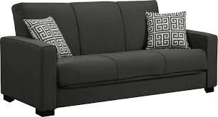 Sleeper Sofa Black Swiger Convertible Sleeper Sofa Reviews Birch