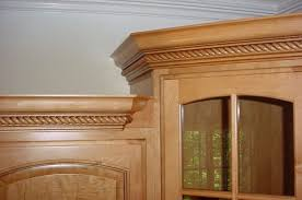 Install Crown Molding On Kitchen Cabinets Kitchen Cabinets With Crown Molding
