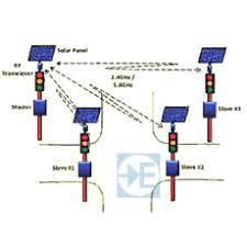 wireless traffic lights signal solar traffic light signal