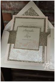 Blush Wedding Invitations 5 Ways To Use Gold On Your Custom Wedding Stationery April Lynn