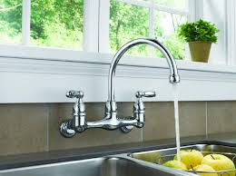 wall mount kitchen faucet with stylish look choosing the best