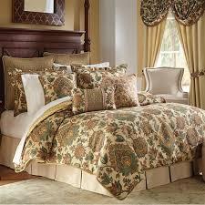 Rust Comforter Set Minka Bedding Collection Croscill