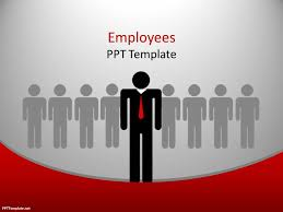 free employees ppt template for sales presentations and team work