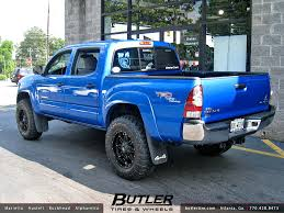 toyota tacoma rims and tires toyota tacoma with 18in fuel hostage wheels additional pic flickr
