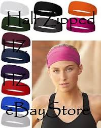 wide headband badger wide headband 0301 polyester spandex 12 colors ebay