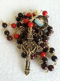 unique rosaries unique rosaries custom rosary prayer necklace by