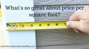 square foot or square feet price per square foot is not the holy grail of property value
