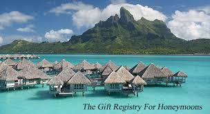 honeymoons registry st regis bora bora honeymoon registry