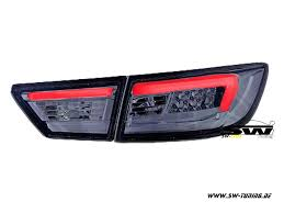 renault 4 tuning swcelis led taillights for renault clio iv 13 17 smoke 4doors