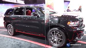 13 dodge durango 2016 dodge durango r t exterior and interior walkaround 2016
