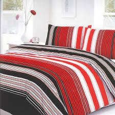 black and red duvet cover red and cream super king duvet cover red