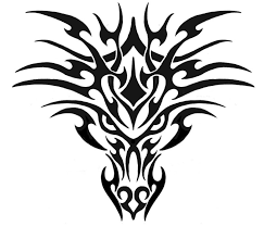 tribal dragon head tattoos for men like tattoo clip art library