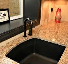 Black Single Bowl Kitchen Sink by Very Practical Black Kitchen Sinks U2014 Romantic Bedroom Ideas