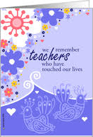 thank you cards for teacher from greeting card universe