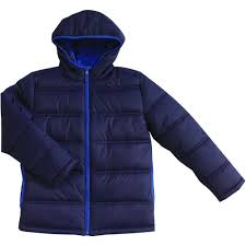 george school uniform boys hooded fleece lined jacket walmart