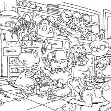 Dil Pickles Rugrats Coloring Dil Pickles