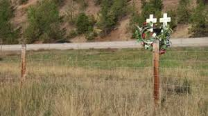 roadside crosses roadside road side memorial cross dui texting driving 2