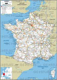 Marseille France Map by Road Map Of France Recana Masana