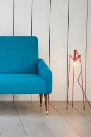 light blue 50s sofa